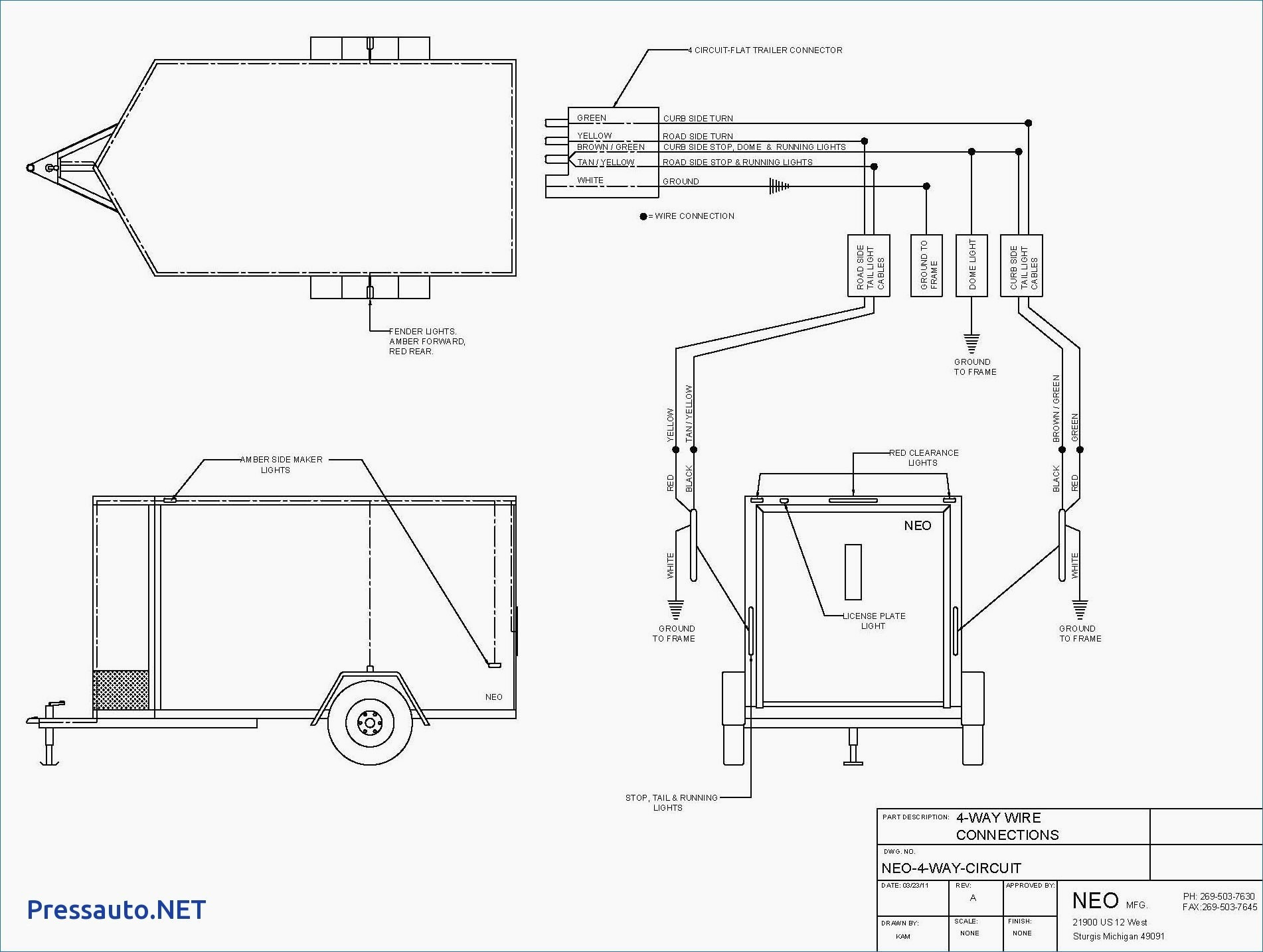 Utility Trailer Wiring Diagram Gallery
