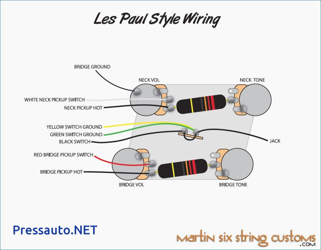 Gibson Le Paul Wiring Diagram