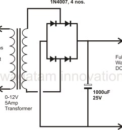 wiring diagram bridge rectifier ponent how to design a power supply circuit simplest the most [ 1019 x 931 Pixel ]