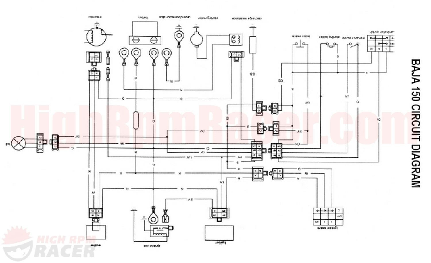 chinese 4 wheeler wiring diagram lymph nodes on back of head for 110cc download