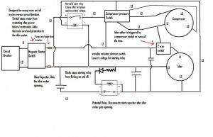Wiring Diagram for Air Compressor Motor Collection