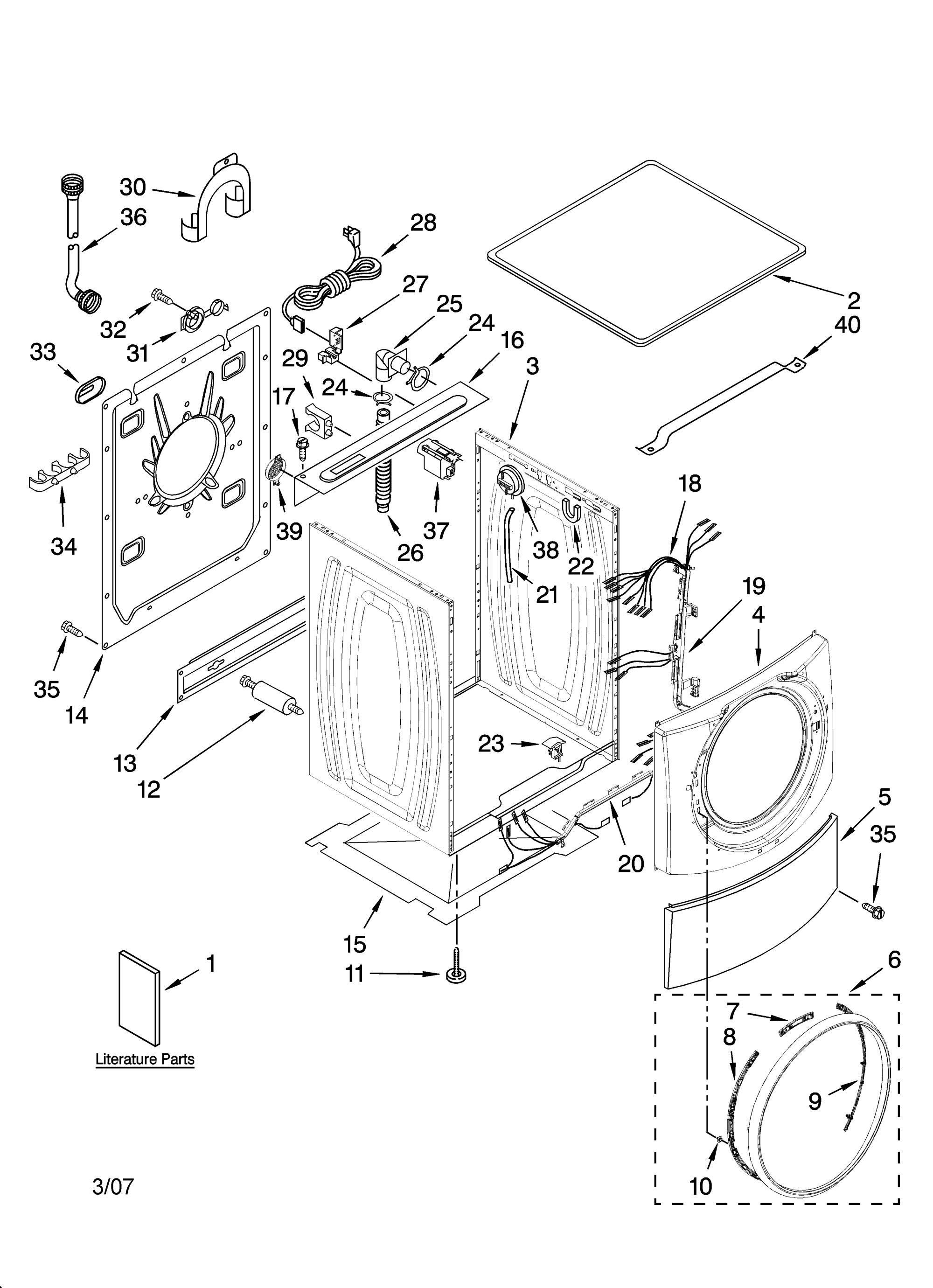 Wiring Diagram For Kenmore Elite Dryer - on