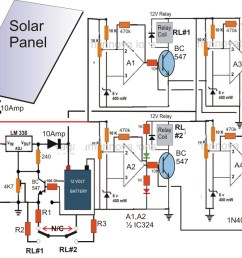 wiring diagram for solar panel to battery f grid solar wiring diagram inspirational homemade solar [ 984 x 835 Pixel ]