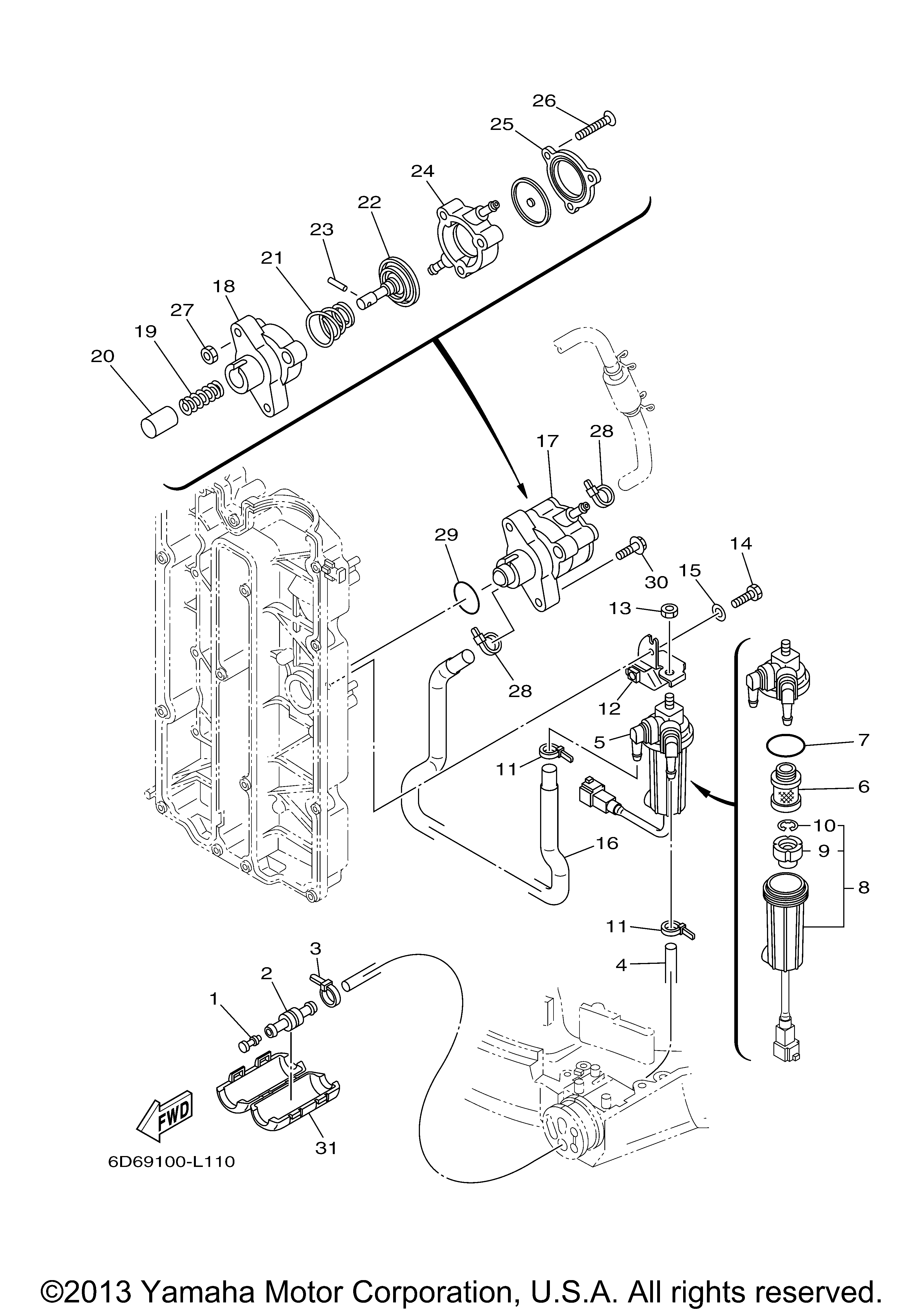 yamaha outboard wire harness diagram