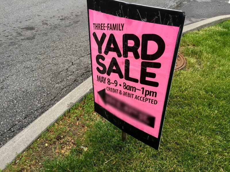 Yard Sale Tips & Tricks: How We Made $1549
