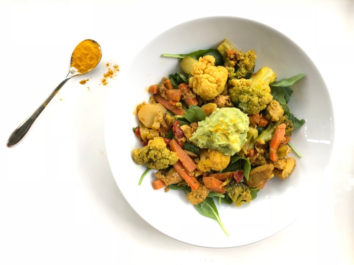 Try this adaptogenic, superfood, Whole30 approved stir fry for a quick & easy meal prep!