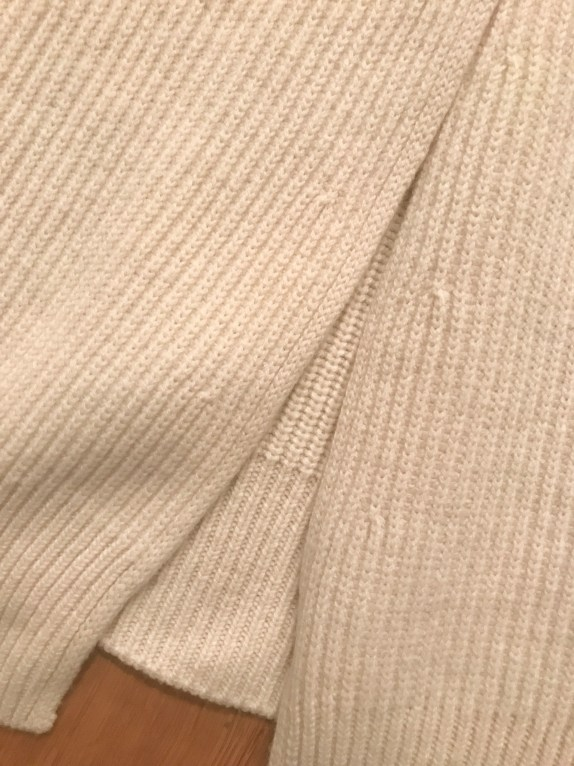 Cuyana Ribbed Sweater Detail 4