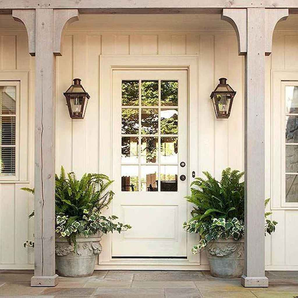 02 rustic farmhouse front porch decorating ideas