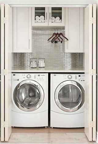 13 cool small laundry room design ideas