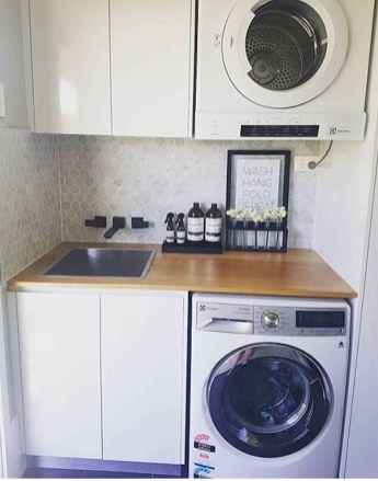 22 cool small laundry room design ideas