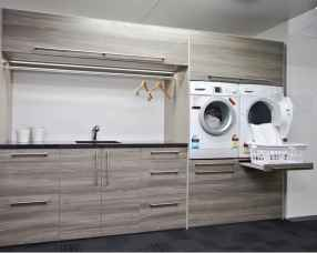 24 cool small laundry room design ideas