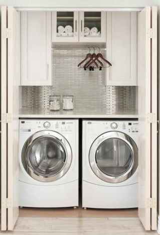 70 cool small laundry room design ideas