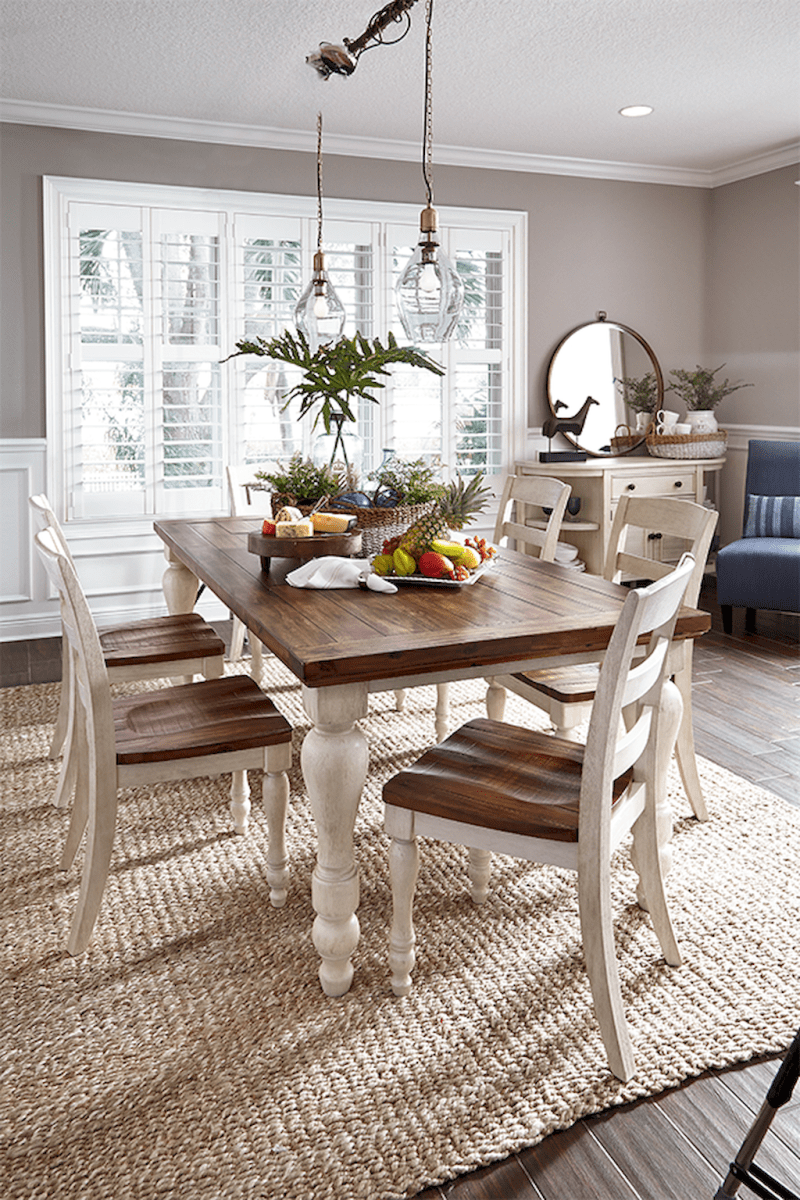 06 gorgeous farmhouse dining room table and decorating ideas