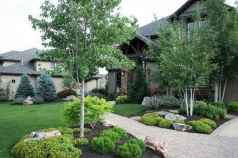 46 affordable low maintenance front yard landscaping ideas