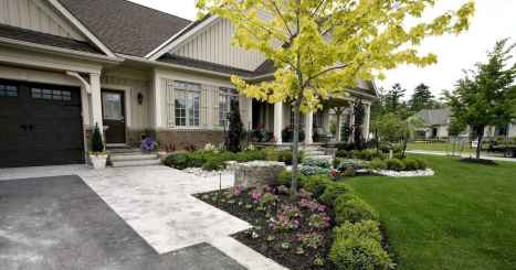 49 beautiful front yard pathway landscaping ideas