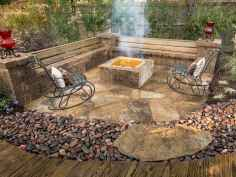 67 easy diy fire pit for backyard landscaping ideas