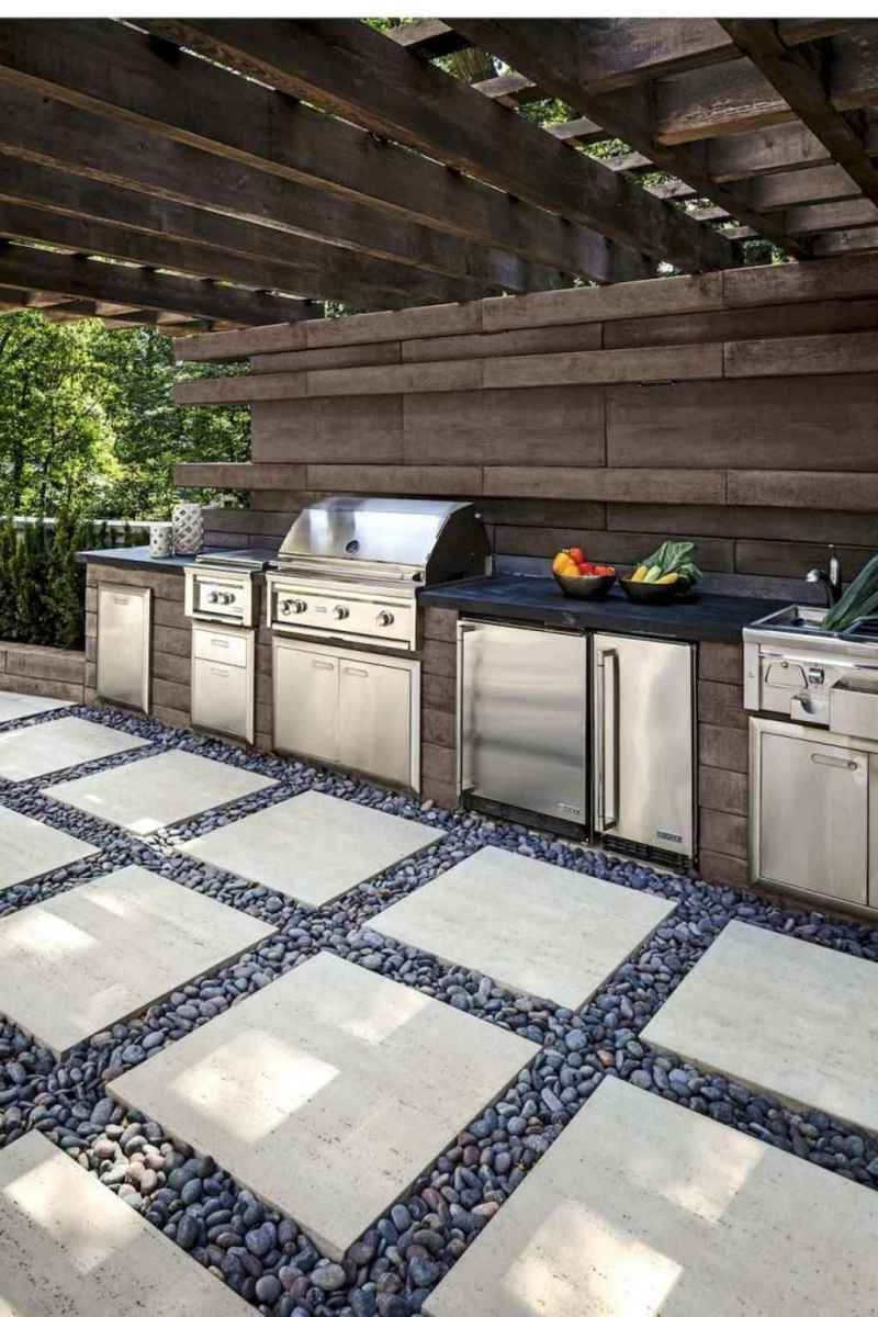 02 best outdoor kitchen and grill for summer backyard ideas