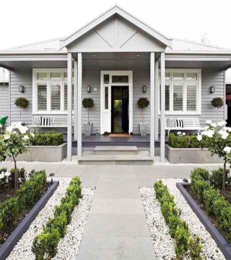 08 beautiful front yard cottage garden landscaping ideas