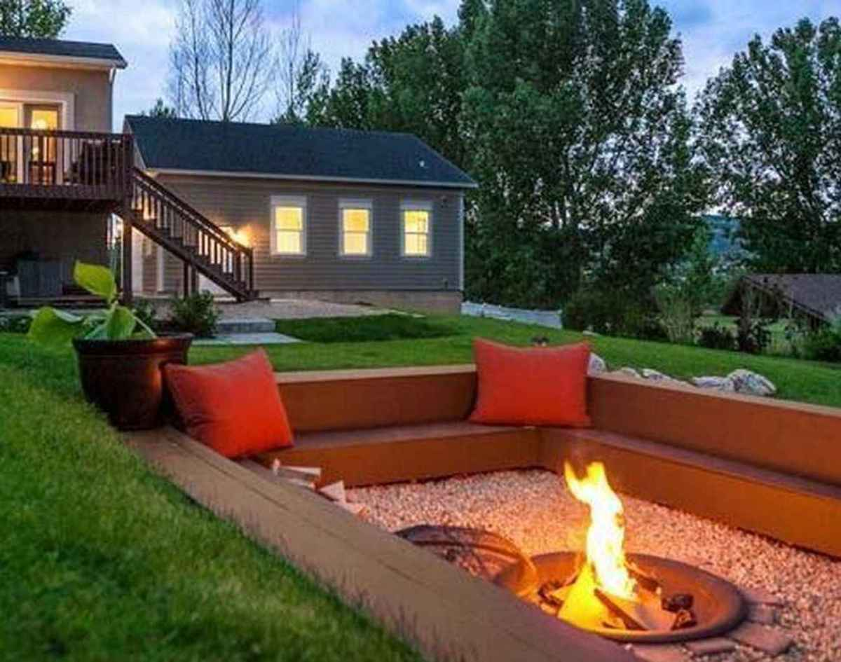 18 awesome outdoor fire pit seating design ideas for backyard