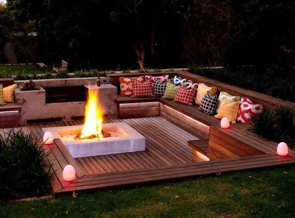 21 awesome outdoor fire pit seating design ideas for backyard