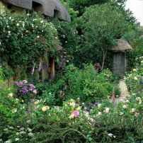 22 beautiful front yard cottage garden landscaping ideas