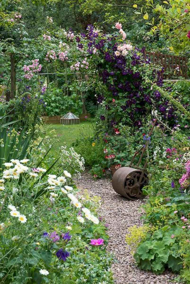 24 beautiful front yard cottage garden landscaping ideas
