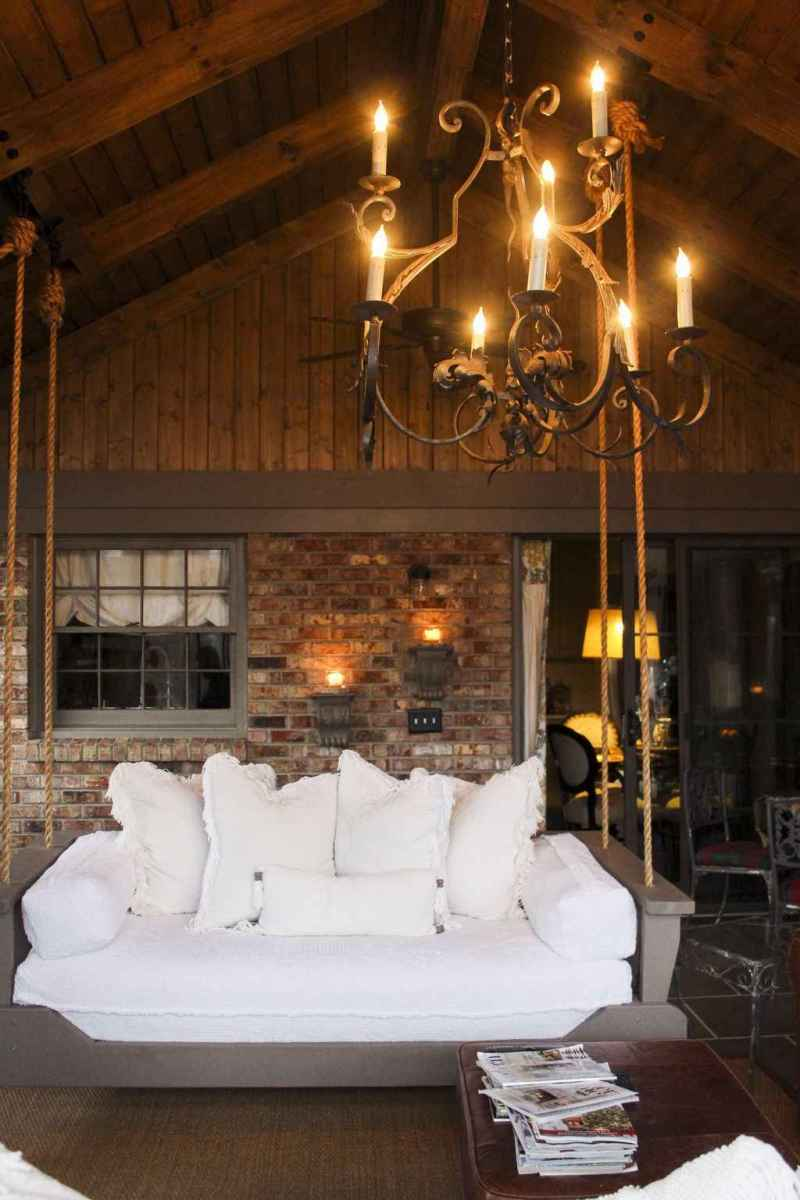 27 hang relaxing front porch swing decor ideas