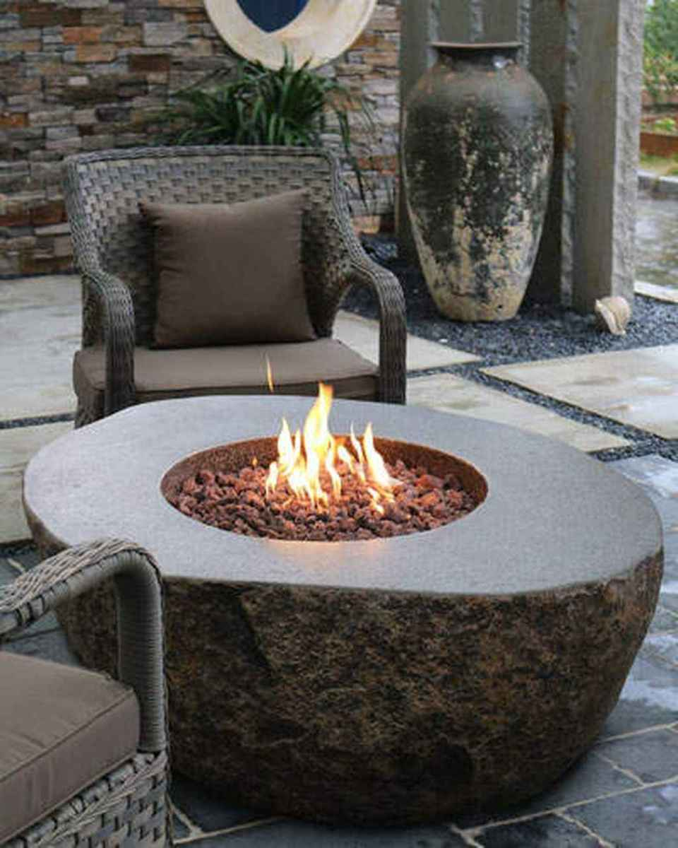 28 awesome outdoor fire pit seating design ideas for backyard