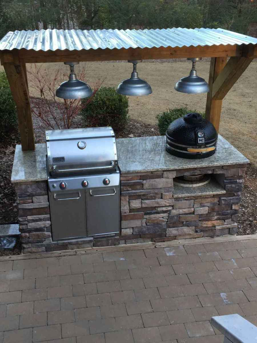 29 best outdoor kitchen and grill for summer backyard ideas