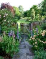 32 beautiful front yard cottage garden landscaping ideas
