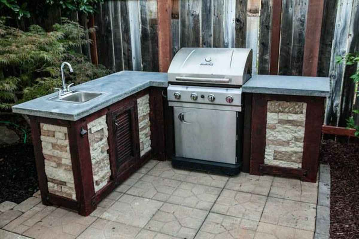 32 best outdoor kitchen and grill for summer backyard ideas