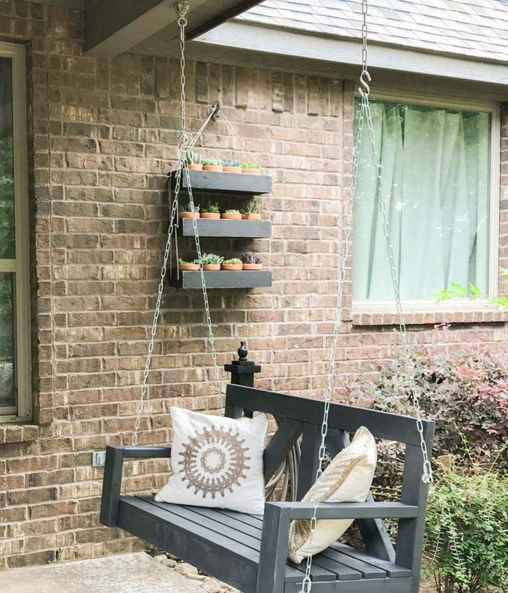 33 hang relaxing front porch swing decor ideas