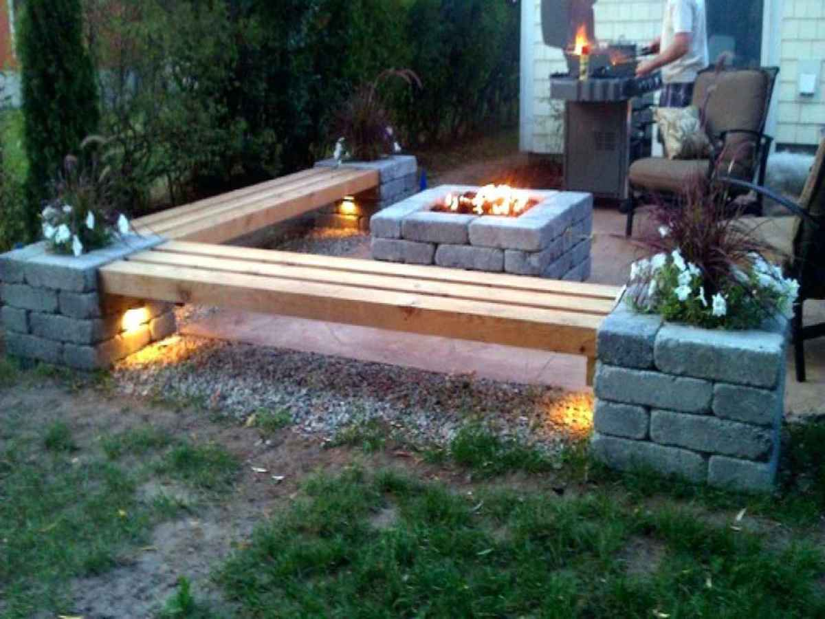 35 awesome outdoor fire pit seating design ideas for backyard