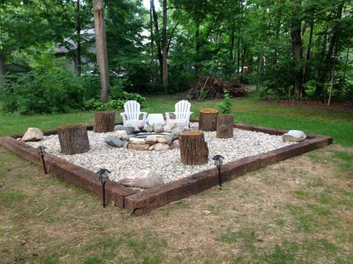 38 awesome outdoor fire pit seating design ideas for backyard