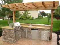 38 best outdoor kitchen and grill for summer backyard ideas
