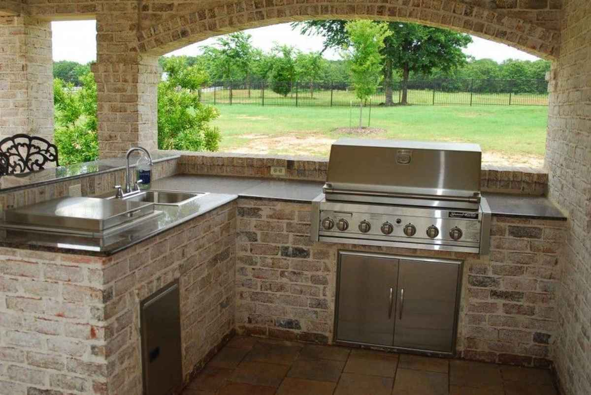 39 best outdoor kitchen and grill for summer backyard ideas