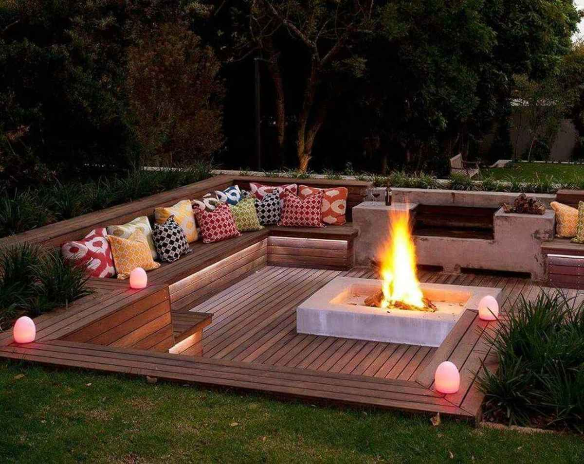 40 awesome outdoor fire pit seating design ideas for backyard