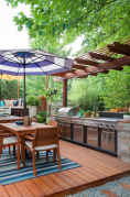 44 best outdoor kitchen and grill for summer backyard ideas