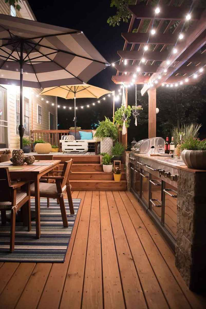 45 best outdoor kitchen and grill for summer backyard ideas