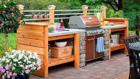 47 best outdoor kitchen and grill for summer backyard ideas
