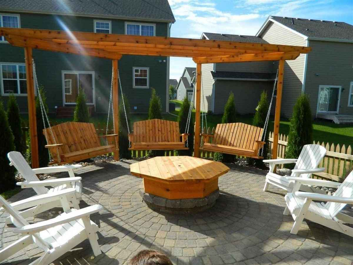 48 awesome outdoor fire pit seating design ideas for backyard