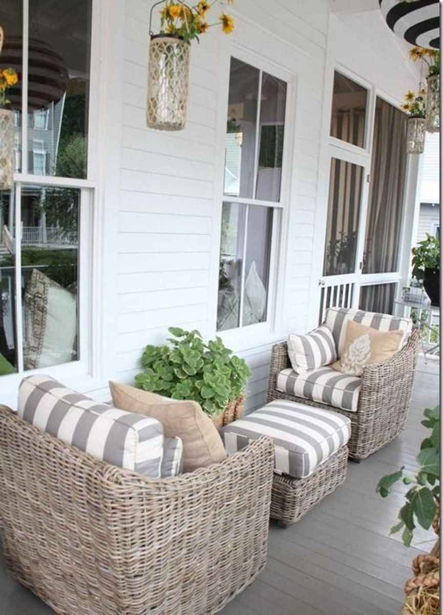 48 awesome summer front porch decorating ideas for farmhouse style