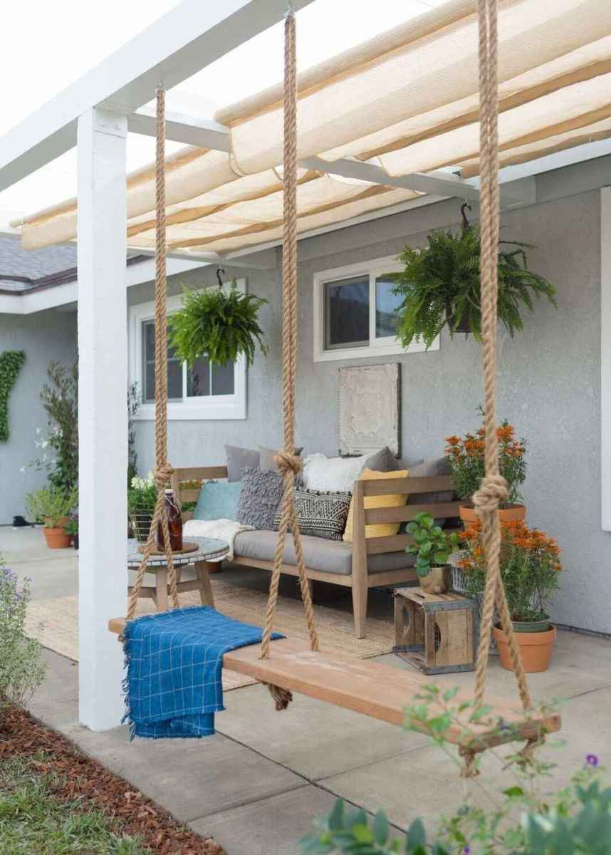 49 hang relaxing front porch swing decor ideas