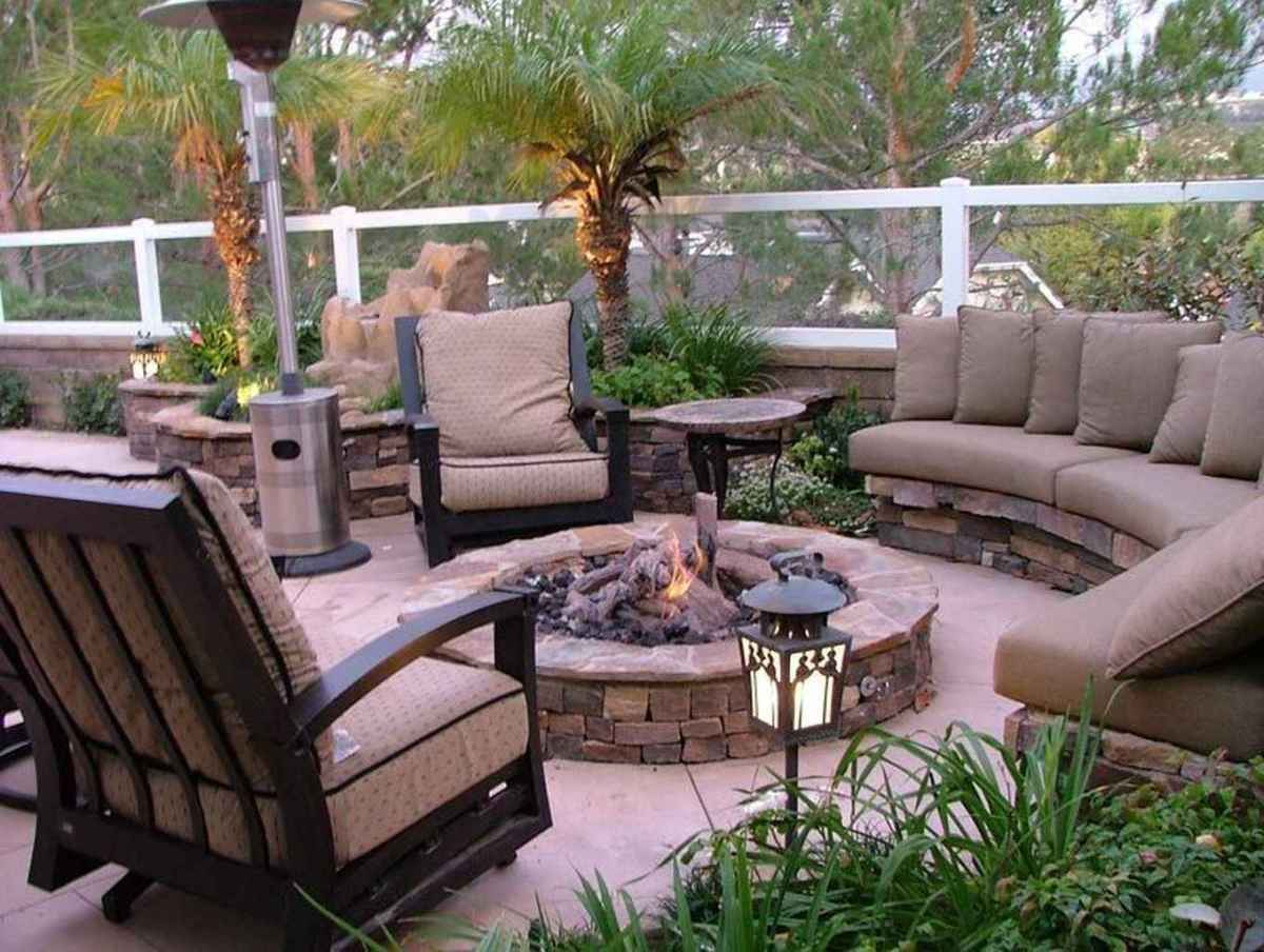53 awesome outdoor fire pit seating design ideas for backyard