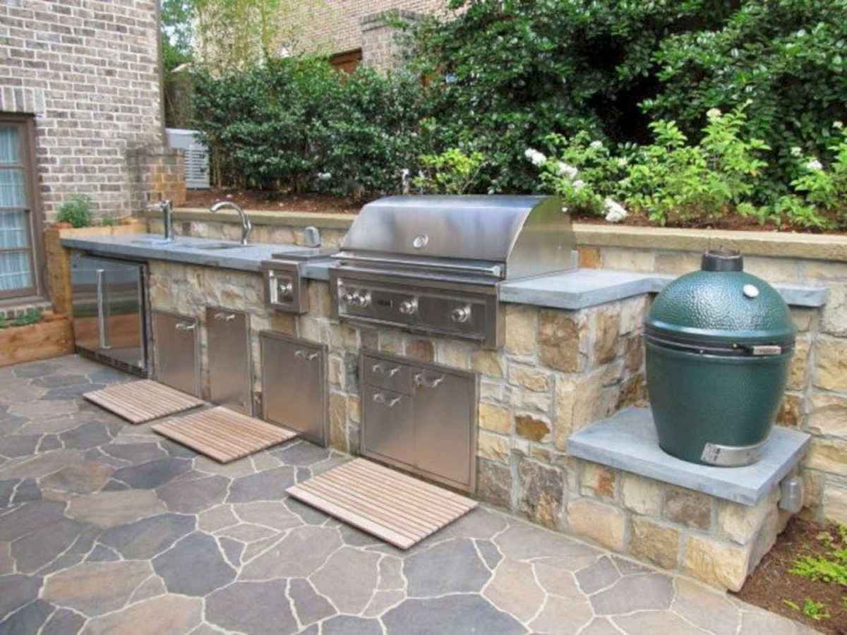 53 best outdoor kitchen and grill for summer backyard ideas