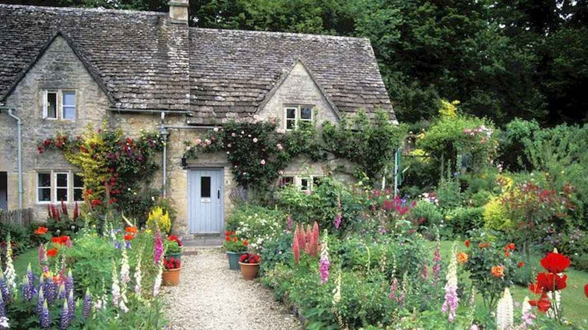 59 beautiful front yard cottage garden landscaping ideas