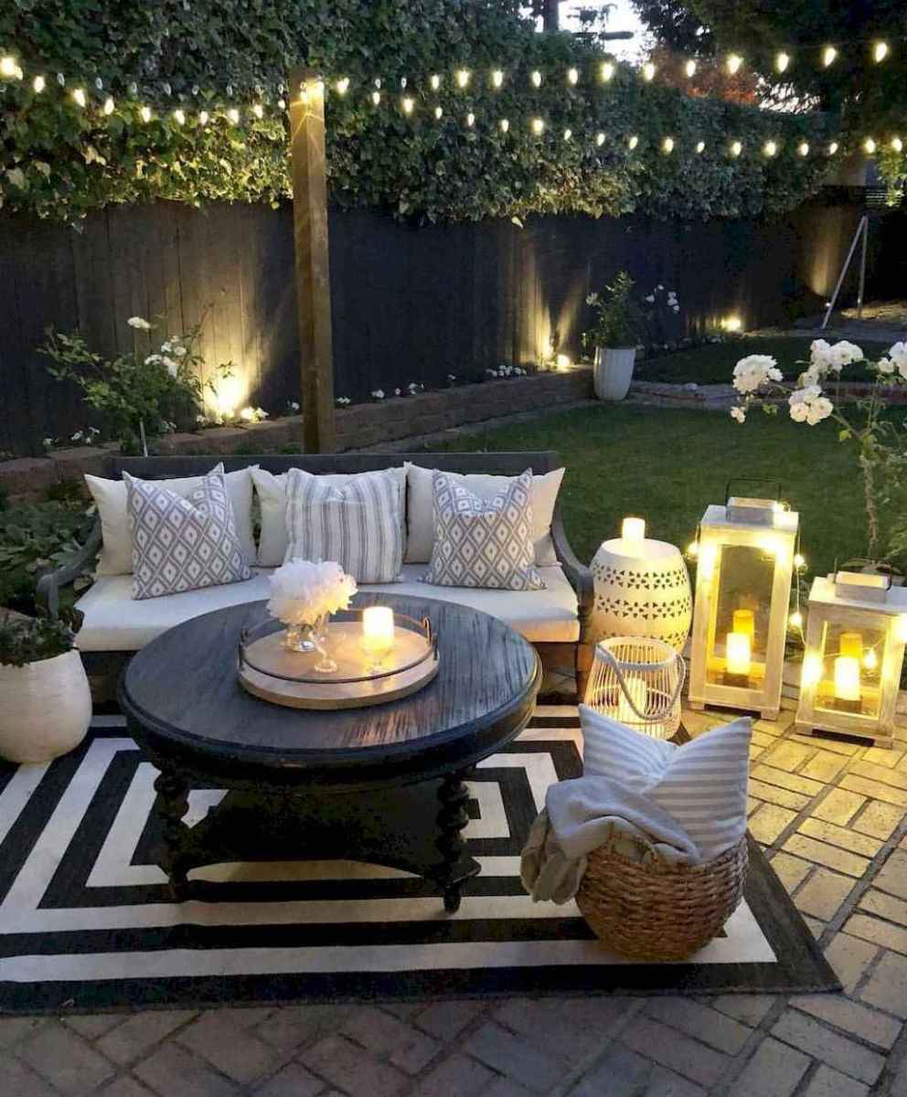 65 relaxing summer backyard patio outdoor seating ideas