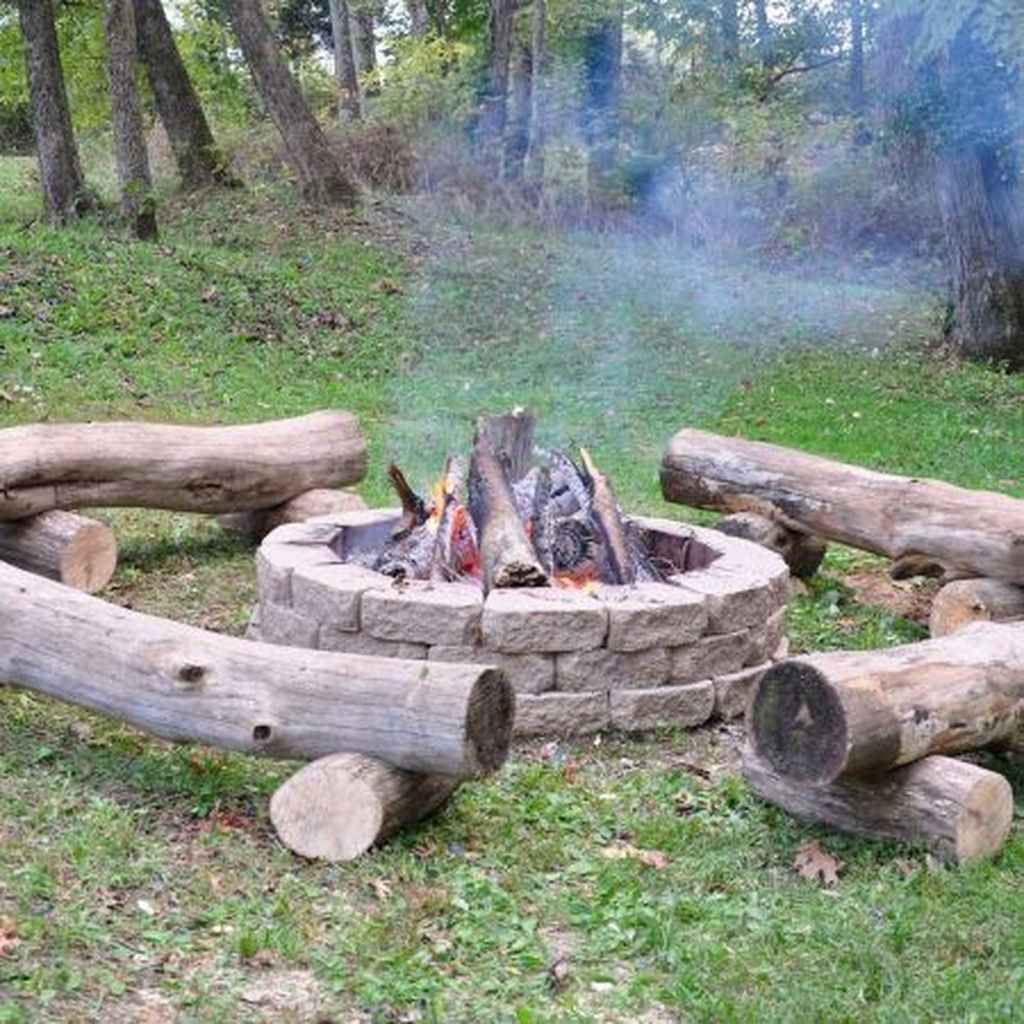67 awesome outdoor fire pit seating design ideas for backyard