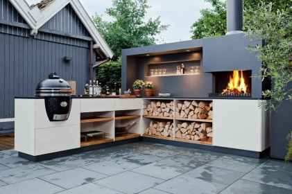 68 best outdoor kitchen and grill for summer backyard ideas
