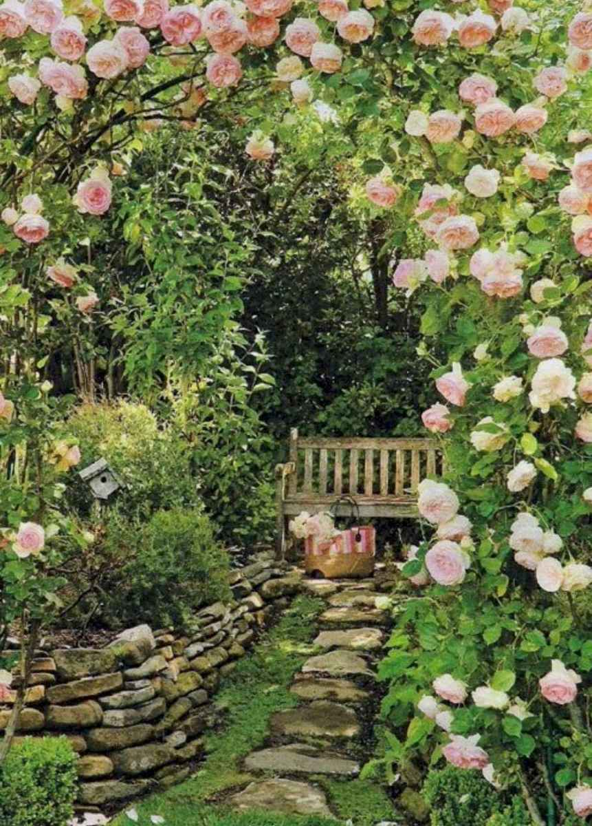 69 stunning small cottage garden ideas for backyard landscaping